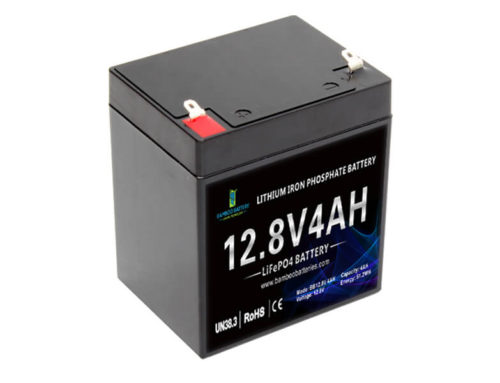 12V 4Ah LiFePO4 Battery