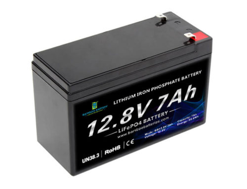12V 7Ah LiFePO4 Battery