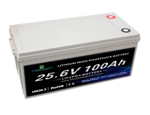 24V 100Ah LiFePO4 Battery