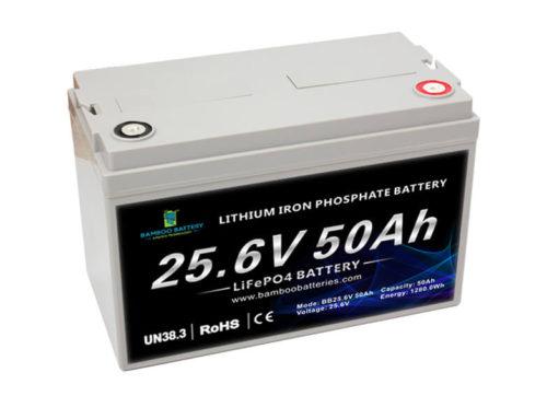 24V 50Ah LiFePO4 Battery
