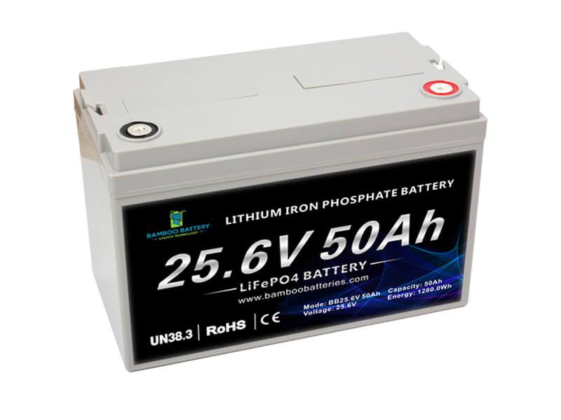 24V 50AH Lithium LiFePO4 Battery pack EV LiFePO4 battery